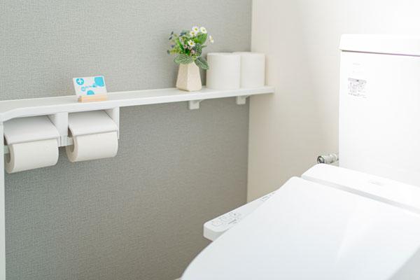 トイレにエアデザインカード